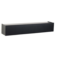 Black Hinged Wall Ledge, 24 in. at Kirkland's