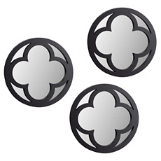 Espresso Clover Mirror, Set of 3 at Kirkland's