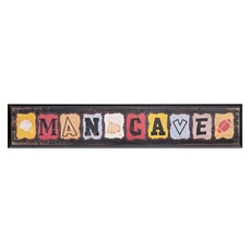Man Cave Wall Plaque at Kirkland's