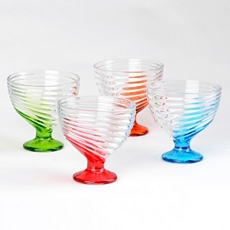 Multicolor Ice Cream Bowl, Set of 4 at Kirkland's