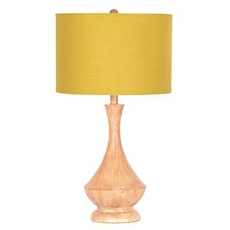 Retro Wood & Lime Table Lamp at Kirkland's