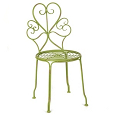 Iriana Green Iron Side Chair at Kirkland's