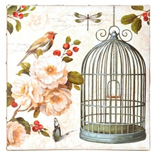 Birds In Bloom II Canvas Art Print at Kirkland's