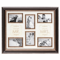 Mr & Mrs 6-Opening Collage Frame at Kirkland's