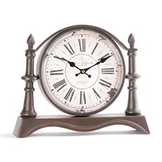 Bronze Tabletop Clock at Kirkland's