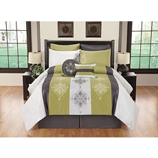 California King Simone 8-pc. Comforter Set at Kirkland's