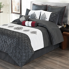 Queen Candice 8-pc. Comforter Set at Kirkland's