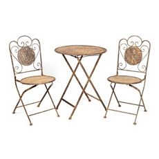 Rustic 3-pc. Folding Patio Set at Kirkland's
