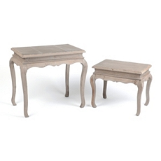 Natural Wood Accent Table, Set of 2 at Kirkland's