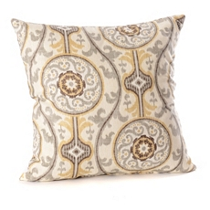 Suzanni Tan & Gold Pillow at Kirkland's