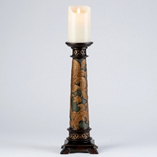 Vintage Floral Candle Holder, 16 in. at Kirkland's