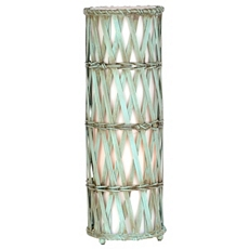 Turquoise Bamboo Uplight at Kirkland's