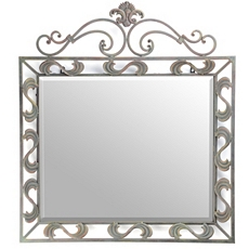 Erica Metal Wall Mirror, 34x31 at Kirkland's