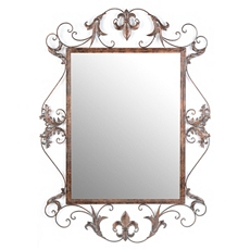 Victoria Metal Wall Mirror, 33x44 at Kirkland's