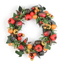 Harvest Vegetable Wreath at Kirkland's