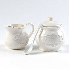 Tea Time Cream & Sugar Set of 2 at Kirkland's
