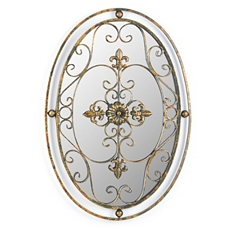 Oval Mirror Wall Plaque at Kirkland's