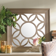 Circles Geometric Wall Mirror, 30x30 at Kirkland's