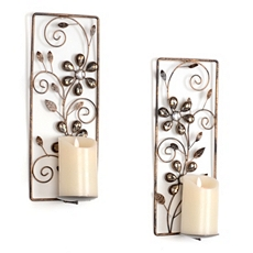 Alice Jeweled Wall Sconce, Set of 2 at Kirkland's