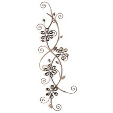 Alice Floral Vine Metal Wall Art at Kirkland's