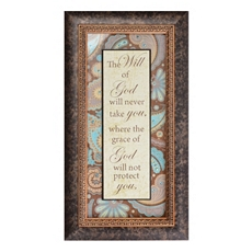 Will Of God Framed Art Print at Kirkland's