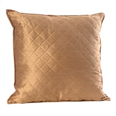 Taupe Quilted Diamond Pillow at Kirkland's