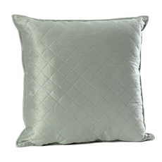 Slate Blue Quilted Diamond Pillow at Kirkland's