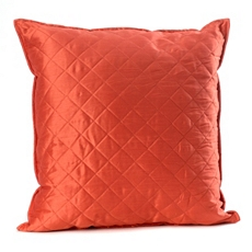Spice Orange Quilted Diamond Pillow at Kirkland's