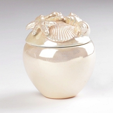 Ivory Pearl Ceramic Box at Kirkland's