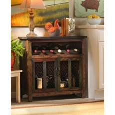 Elise Wood Wine Cabinet at Kirkland's