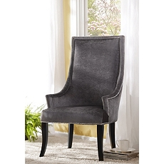 Gray Velvet Chatham Arm Chair at Kirkland's