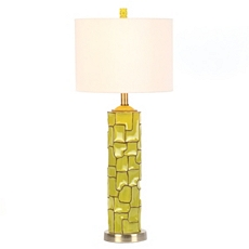 Lime Green Retro Ceramic Table Lamp at Kirkland's