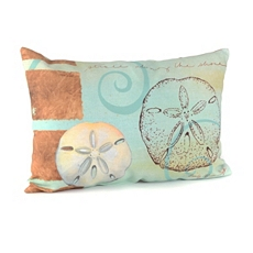 Colorful Sand Dollar Outdoor Pillow at Kirkland's