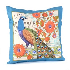 Peacock Vision Blue Pillow at Kirkland's