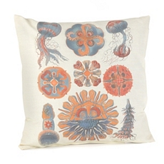 Sophisticated Sealife Outdoor Pillow at Kirkland's