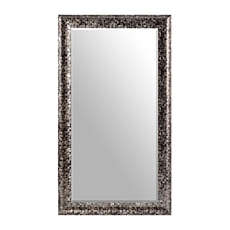 Black Mosaic Frame Mirror, 32x56 at Kirkland's