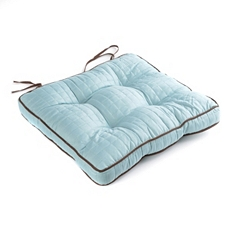 Light Blue Quilted Chair Pad at Kirkland's