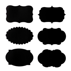 Chalkboard Labels, Set of 12 at Kirkland's