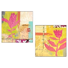 Urban Prairie Wood Art Panel, Set of 2 at Kirkland's
