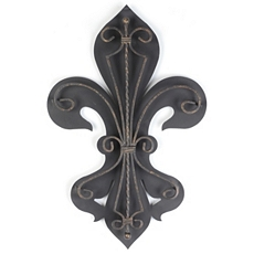Fleur-de-Lis 2-Layer Metal Wall Art at Kirkland's