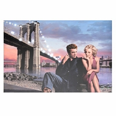 By The Bridge LED Canvas Art Print at Kirkland's