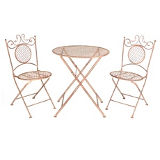 Bronze Bistro 3-pc. Folding Patio Set at Kirkland's