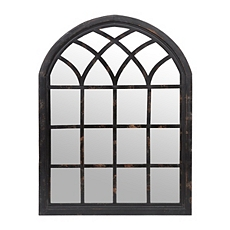 Ava Black Arch Wall Mirror, 35x46 at Kirkland's