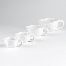 White Measuring Cup, Set of 4 at Kirkland's