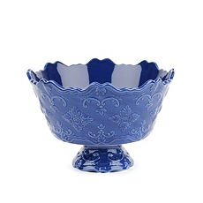 Blue Sweet Olive Serving Bowl at Kirkland's
