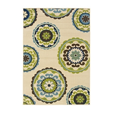 Sydney Medallion Indoor/Outdoor Rug, 5x7 at Kirkland's