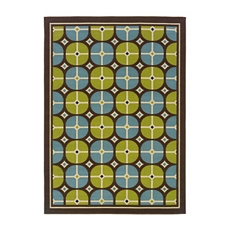 Sydney Circles Indoor/Outdoor Rug, 5x7 at Kirkland's