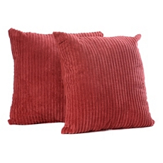 Brick Red Perry Mineral Pillow, Set of 2 at Kirkland's