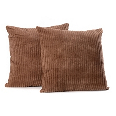 Chocolate Brown Perry Mineral Pillow, Set of 2 at Kirkland's