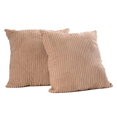 Bamboo Tan Perry Mineral Pillow, Set of 2 at Kirkland's